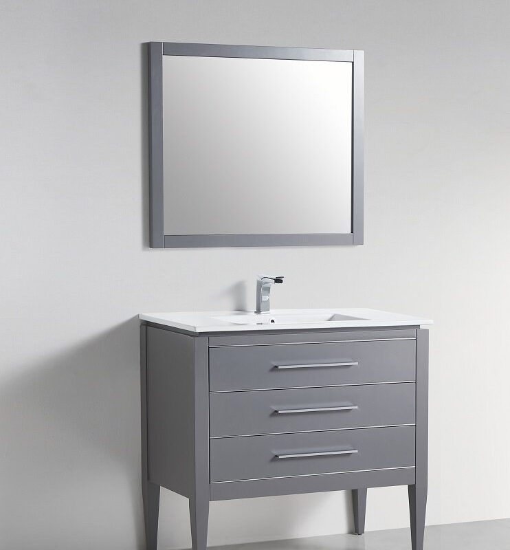 "BAGNO ITALIA WINDSOR-30 BLU - Vanity 30"" with Quartz Top"
