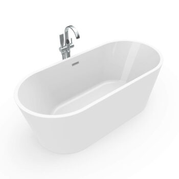 MAAX 106385 - Louie 6731 1-piece bathtub 67x31 - center drain