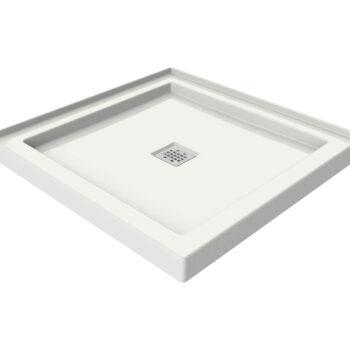 MAAX 420000 - B3 Square 3636 White Acrylic shower base