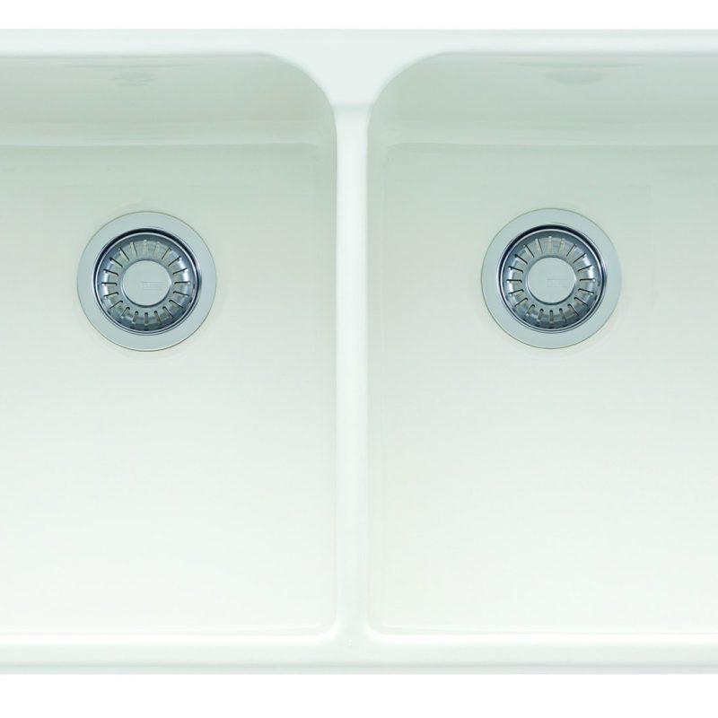 Franke Manor House Apron Front Kitchen Sink - MHK720-35WH