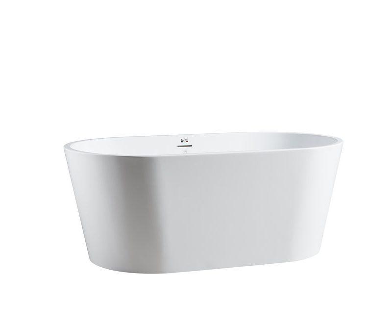 "BAGNO ITALIA MN111150 - Freestanding Bathtub 59"" x 32"" x 24"""