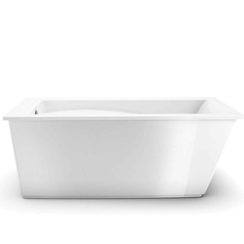 MAAX 105571 - Optik 6032F 60x32 Sleek 2-piece freestanding bathtub
