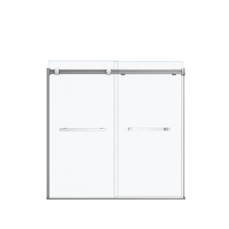 "MAAX 136270 - Duel Sliding 60"" Tub Door 56-59 x 55 ½-59 in."