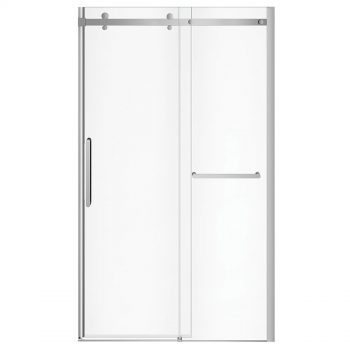 MAAX 138954 - Halo Pro Sliding Shower Door with TB 44 ½-47 x 78 ¾ in.