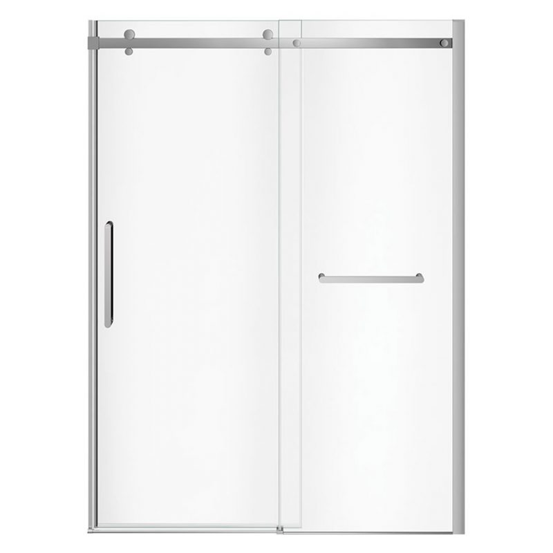 MAAX 138956 - Halo Pro Sliding Shower Door with TB 56 ½-59 x 78 ¾ in.