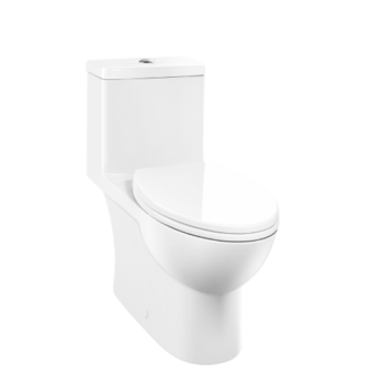 CAROMA - CARAVELLE ONE PIECE ELONGATED DUAL-FLUSH TOILET