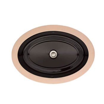 DXV D20045000.178 - Pop Oval Under Counter Bathroom Sink