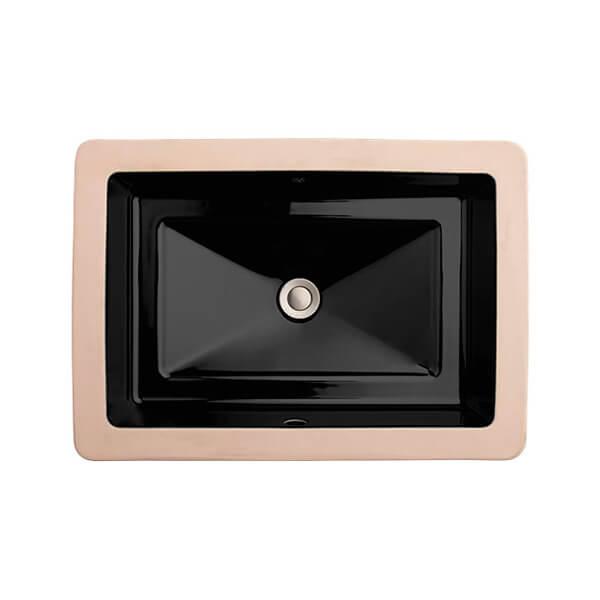 DXV D20050000.178 - Pop Rectangle Under Counter Bathroom Sink