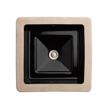 DXV D20060000.178 - Pop Square Under Counter Bathroom Sink