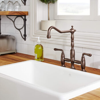 "DXV D20066230.415 - Hillside 30"" Apron Kitchen Sink"