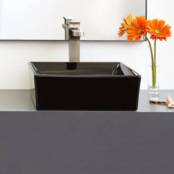 DXV D20085015.178 - Pop Square Vessel Bathroom Sink