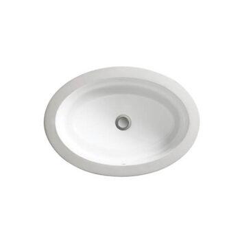 DXV D20115000.415 - Pop Petite Oval Under Counter Bathroom Sink