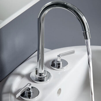 DXV D3510580C.100 - Percy Widespread Bathroom Faucet with Lever Handles
