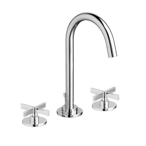 DXV D3510584C.100 - Percy Widespread Bathroom Faucet with Cross Handles