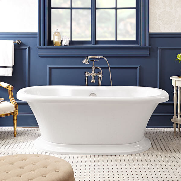 DXV D62747004.415 - St. George Freestanding Soaking Tub with Deck
