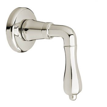 DXV D35101700.150 - Ashbee 1/2 Inch or 3/4 Inch Wall Valve Trim with Lever Handle