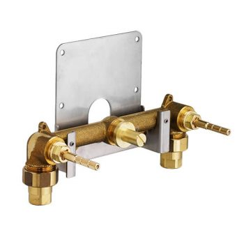 DXV D35000450.191 - Dual Control Wall-Mounted Bathroom Faucet Rough Valve