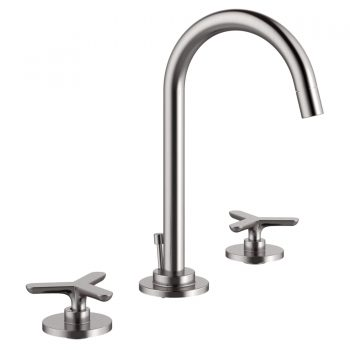DXV D35105870.144 - Percy Widespread Faucet with Tri-Spoke Handles