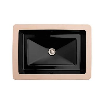 DXV D20050000.178 - Pop Rectangle Under Counter Bathroom Sink