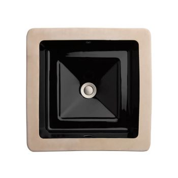 DXV D20060000.178 - Pop Square Under Counter Bathroom Sink