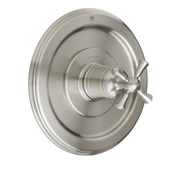 DXV D35102514.144 - Randall 1/2 Inch or 3/4 Inch Thermostatic Valve Trim with Cross Handle