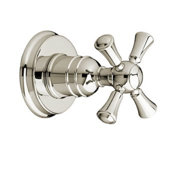 DXV D35102740.150 - Randall 1/2 Inch or 3/4 Inch Wall Valve Trim with Cross Handle