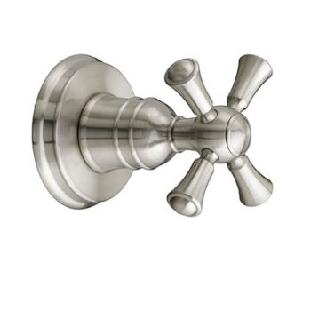 DXV D35102740.144 - Randall 1/2 Inch or 3/4 Inch Wall Valve Trim with Cross Handle