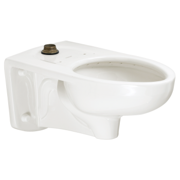 American Standard 3352101.020 - Afwall Millenium 1.1- 1.6gpf FloWise Elongated Flushometer Toilet