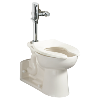 American Standard 3690001.020 - Priolo 1.1-1.6 gpf EverClean Universal Flushometer Toilet