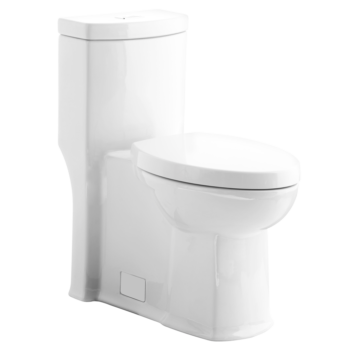 American Standard 2891128.222 - Boulevard FloWise Right Height Elongated One-Piece 1.28 gpf Toilet