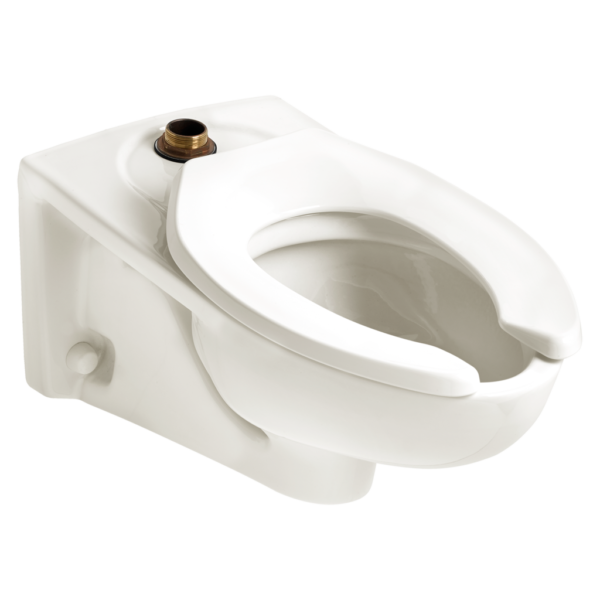 American Standard 3351101.020 - Afwall Millennium 1.1-1.6 gpf Top Spud Elongated Bowl with EverClean