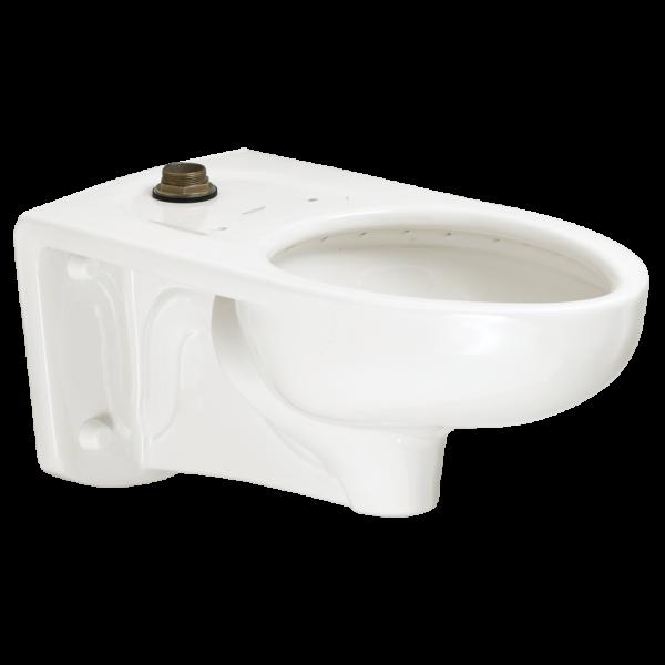 American Standard 3352101.020 - Afwall Millenium 1.1- 1.6gpf FloWise Elongated Flushometer Toilet