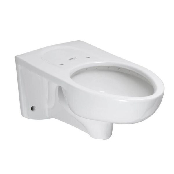 American Standard 3353101.020 - Afwall Millennium 1.1-1.6 gpf Back Spud Elongated Bowl with EverClean