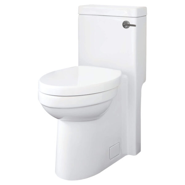 DXV D22015F102.415 - Cossu Elongated One-Piece Toilet with Right-Hand Trip Lever