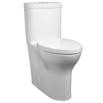 DXV D22690A200.415 - Equility One Piece Elongated Dual Flush Toilet