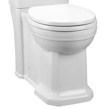DXV D23005D000.415 - Fitzgerald Round Front Toilet Bowl