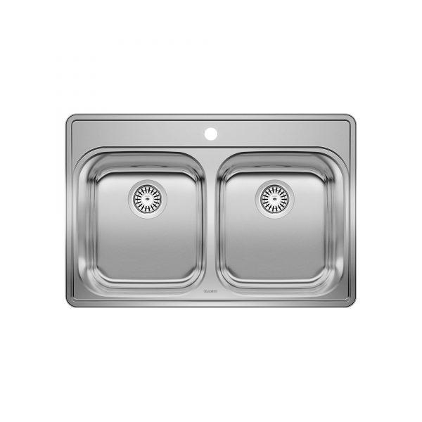 BLANCO 400001 - ESSENTIAL 2 (1 Hole) Drop-in Kitchen Sink