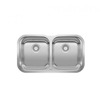 BLANCO 400008 – ESSENTIAL U 2 Undermount Kitchen Sink