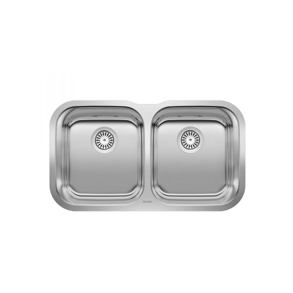 BLANCO 400008 - ESSENTIAL U 2 Undermount Kitchen Sink