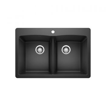 BLANCO 400056 - DIAMOND 210 Double Bowl Drop-in Sink