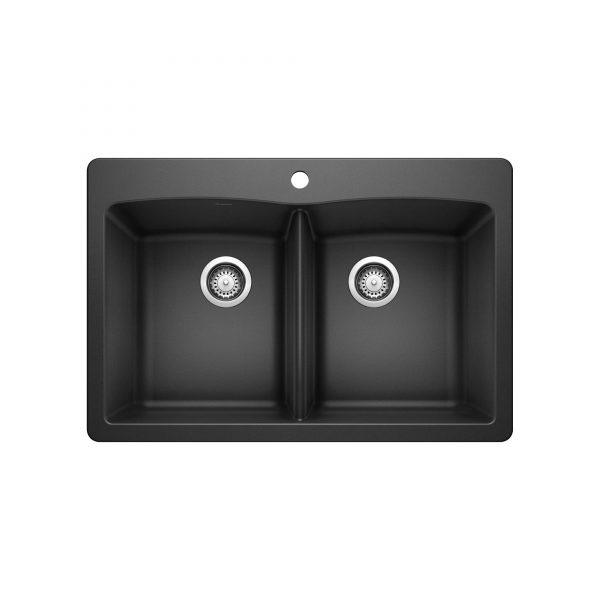 BLANCO 400056 - DIAMOND 210 Double Bowl Drop-in Sink