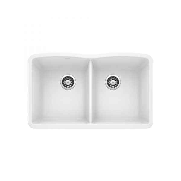 BLANCO 400072 - DIAMOND U 2 Double Bowl Undermount Sink