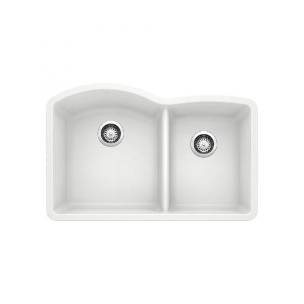 BLANCO 400076 - DIAMOND U 1 ¾ Double Bowl Undermount Sink