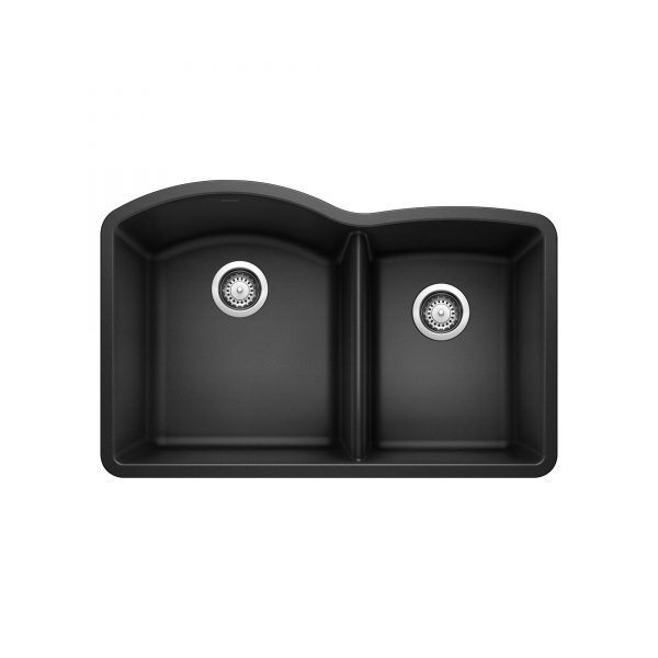 BLANCO 400077 - DIAMOND U 1 ¾ Double Bowl Undermount