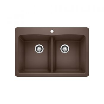 BLANCO 400365 - DIAMOND 210 Double Bowl Drop-in Sink