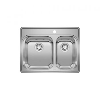 BLANCO 401001 - ESSENTIAL 1 ½ (1 Hole) Drop-in Kitchen Sink
