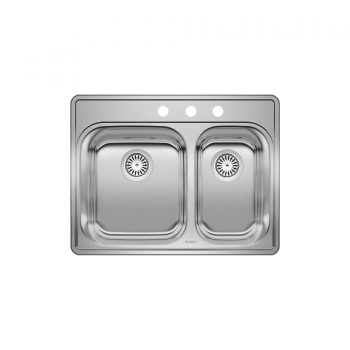 BLANCO 401003 – ESSENTIAL 1 ½ (3 Holes) Drop-in Sink