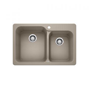 BLANCO 401137 - VISION 1 ¾ Drop-in Kitchen Sink