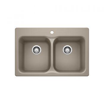 BLANCO 401145 - VISION 210 Drop-in Kitchen Sink