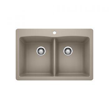 BLANCO 401152 - DIAMOND 210 Double Bowl Drop-in Sink